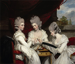 The Ladies Waldegrave, 1780 von Reynolds | Gemälde-Reproduktion