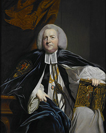 Robert Hay Drummond, Archbishop of York, 1764 von Reynolds | Gemälde-Reproduktion