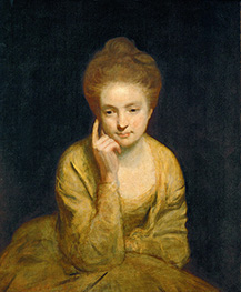 Portrait of a Young Lady | Reynolds | Painting Reproduction