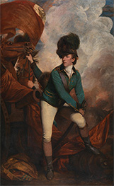 Colonel Tarleton, 1782 by Reynolds | Painting Reproduction