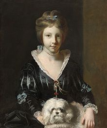 Miss Beatrix Lister | Reynolds | Painting Reproduction