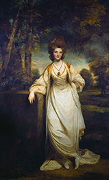 Lady Elizabeth Compton | Reynolds | Painting Reproduction