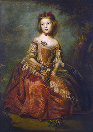Lady Elizabeth Hamilton, 1758 by Reynolds | Painting Reproduction