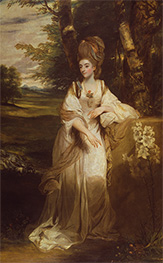 Lady Bampfylde, c.1776/77 by Reynolds | Painting Reproduction