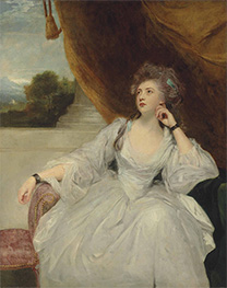 Portrait of Elizabeth Falconer, Undated by Reynolds | Painting Reproduction