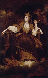 Mrs Siddons as the Tragic Muse, 1789 by Reynolds | Painting Reproduction