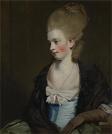 Miss Offy Palmer, c.1777/81 by Reynolds | Painting Reproduction