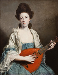 Mrs. Robert Froude, nee Phillis Hurrell | Reynolds | Painting Reproduction
