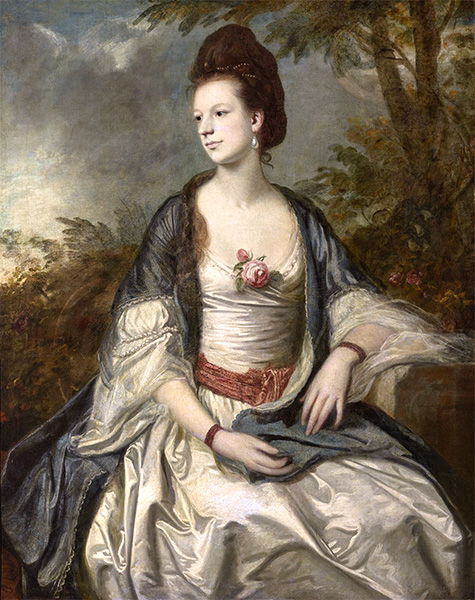 Lady Cecil Rice, 1762 | Reynolds | Gemälde Reproduktion