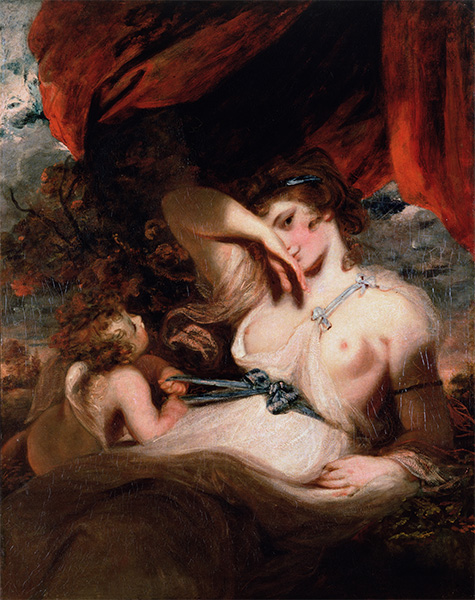 Cupid Untying the Zone of Venus, 1788 | Reynolds | Painting Reproduction