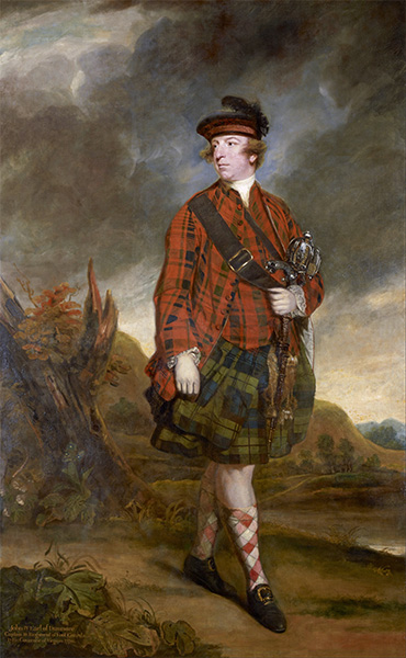 John Murray, 4th Earl of Dunmore, 1765 | Reynolds | Painting Reproduction