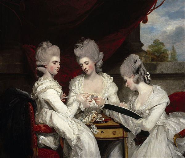 The Ladies Waldegrave, 1780 | Reynolds | Painting Reproduction