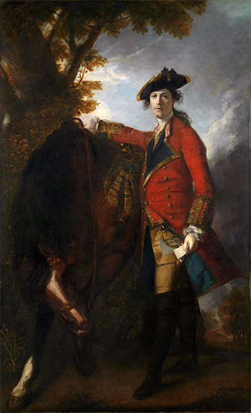 Captain Robert Orme, 1756 | Reynolds | Painting Reproduction