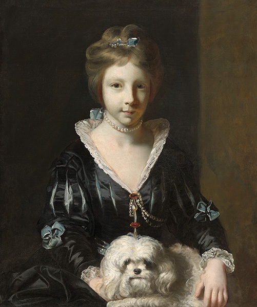 Miss Beatrix Lister, 1765 | Reynolds | Painting Reproduction
