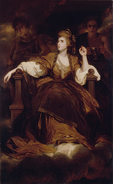 Mrs Siddons as the Tragic Muse, 1789 | Reynolds | Gemälde Reproduktion