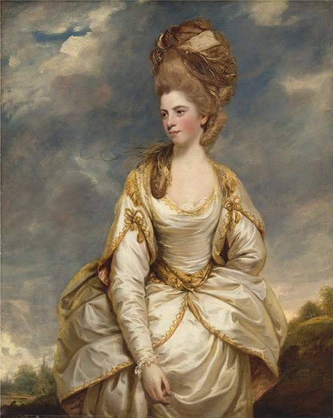 Sarah Campbell, c.1777/78 | Reynolds | Painting Reproduction