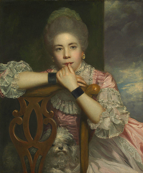 Mrs. Abington as Miss Prue in Love for Love, 1771 | Reynolds | Painting Reproduction