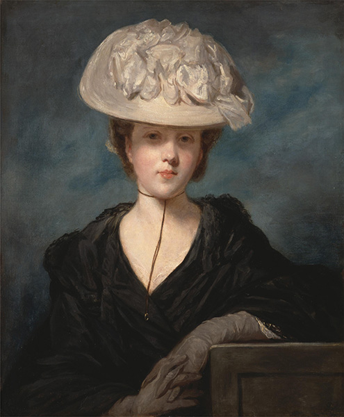 Miss Mary Hickey, c.1769/73 | Reynolds | Gemälde Reproduktion