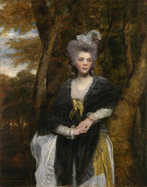 Lady Frances Finch, c.1781/82 | Reynolds | Gemälde Reproduktion