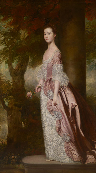 Miss Susanna Gale, c.1763/64 | Reynolds | Painting Reproduction
