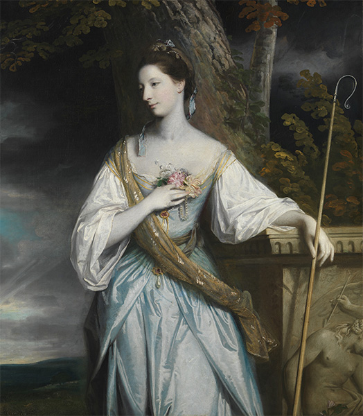 Anne Dashwood, Later Countess of Galloway, 1764 | Reynolds | Painting Reproduction