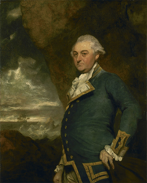 Captain John Gell, 1786 | Reynolds | Painting Reproduction
