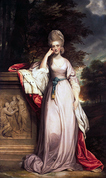 Anne, Viscountess Townsend, Later Marchioness Townshend, c.1779/80 | Reynolds | Painting Reproduction