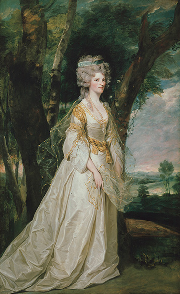 Lady Sunderlin, 1786 | Reynolds | Painting Reproduction