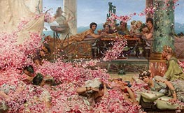 The Roses of Heliogabalus, 1888 by Alma-Tadema | Painting Reproduction