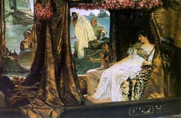 Antony and Cleopatra, 1883 by Alma-Tadema | Painting Reproduction