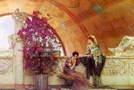 Unconscious Rivals, 1893 by Alma-Tadema | Painting Reproduction