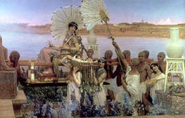 The Finding of Moses | Alma-Tadema | Painting Reproduction