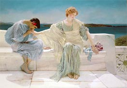 Ask me no More | Alma-Tadema | Painting Reproduction