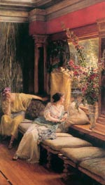 Vain Courtship | Alma-Tadema | Painting Reproduction