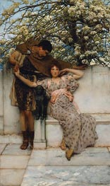 Promise of Spring | Alma-Tadema | Painting Reproduction