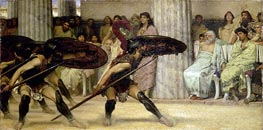 Pyrrhic Dance | Alma-Tadema | Painting Reproduction