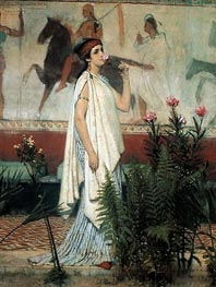 A Greek Woman | Alma-Tadema | Painting Reproduction