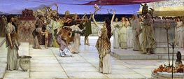 A Dedication to Bacchus | Alma-Tadema | Painting Reproduction