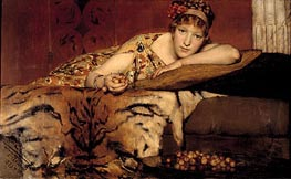 Cherries, 1873 by Alma-Tadema | Painting Reproduction