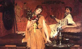 Between Hope and Fear, 1876 by Alma-Tadema | Painting Reproduction
