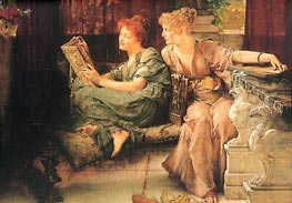 Comparisons, 1892 by Alma-Tadema | Painting Reproduction