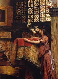 In My Studio, 1893 by Alma-Tadema | Painting Reproduction