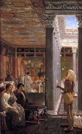 An Egyptian Juggler, 1870 by Alma-Tadema | Painting Reproduction