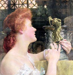 The Golden Hour, 1908 by Alma-Tadema | Painting Reproduction