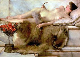The Tepidarium, 1881 by Alma-Tadema | Painting Reproduction