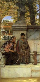 In the Time of Constantine, 1878 by Alma-Tadema | Painting Reproduction