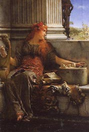 Poetry, 1879 by Alma-Tadema | Painting Reproduction