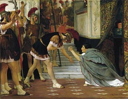 Proclaiming Claudius Emperor, 1867 by Alma-Tadema | Painting Reproduction