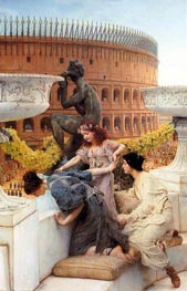 The Colosseum, 1896 by Alma-Tadema | Painting Reproduction