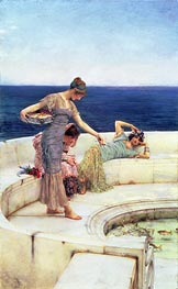 Silver Favorites, c.1903 by Alma-Tadema | Painting Reproduction